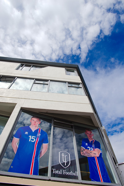 Our time in Iceland coincided with Iceland's amazing Euro Cup 2016 run to the quarter finals