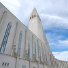 Reykjavík's most recognizable landmark, the Hallgrímskirkja Lutheran Church