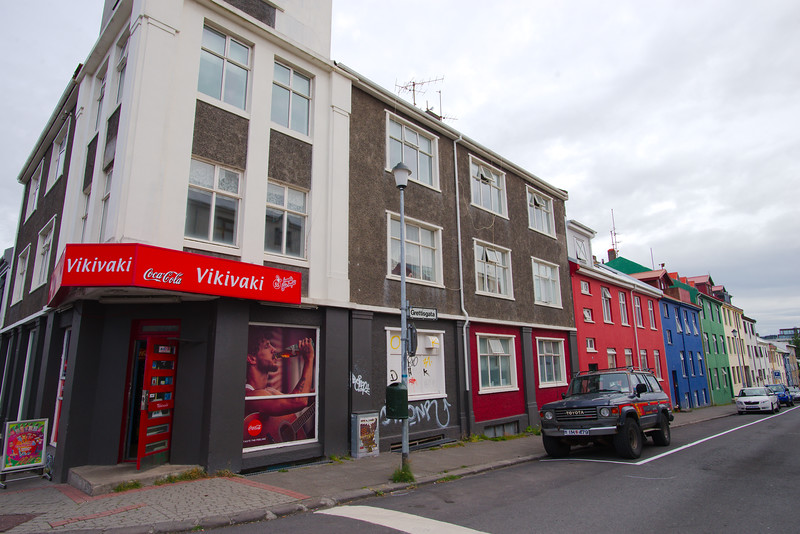 Reykjavík street corner