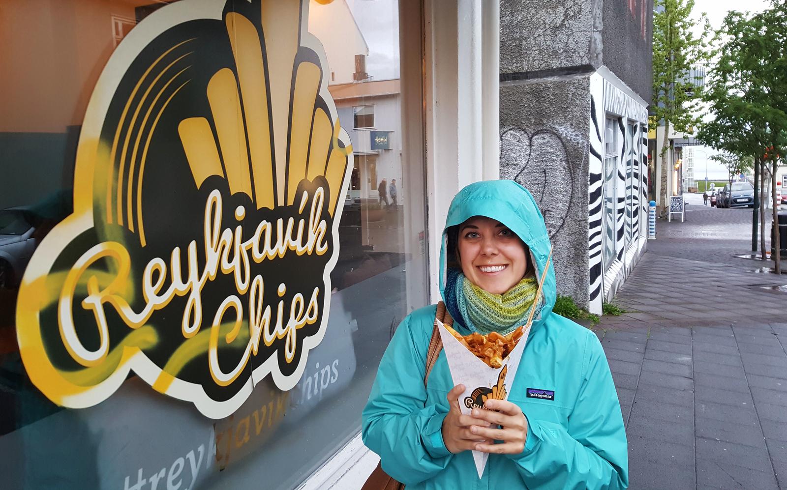 Reykjavik Chips - One day in Reykjavik Iceland