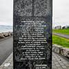 """Partnership"" sculpture - Reykjavik"
