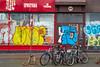 Street art graffiti in downtown Reykjavik, Iceland.