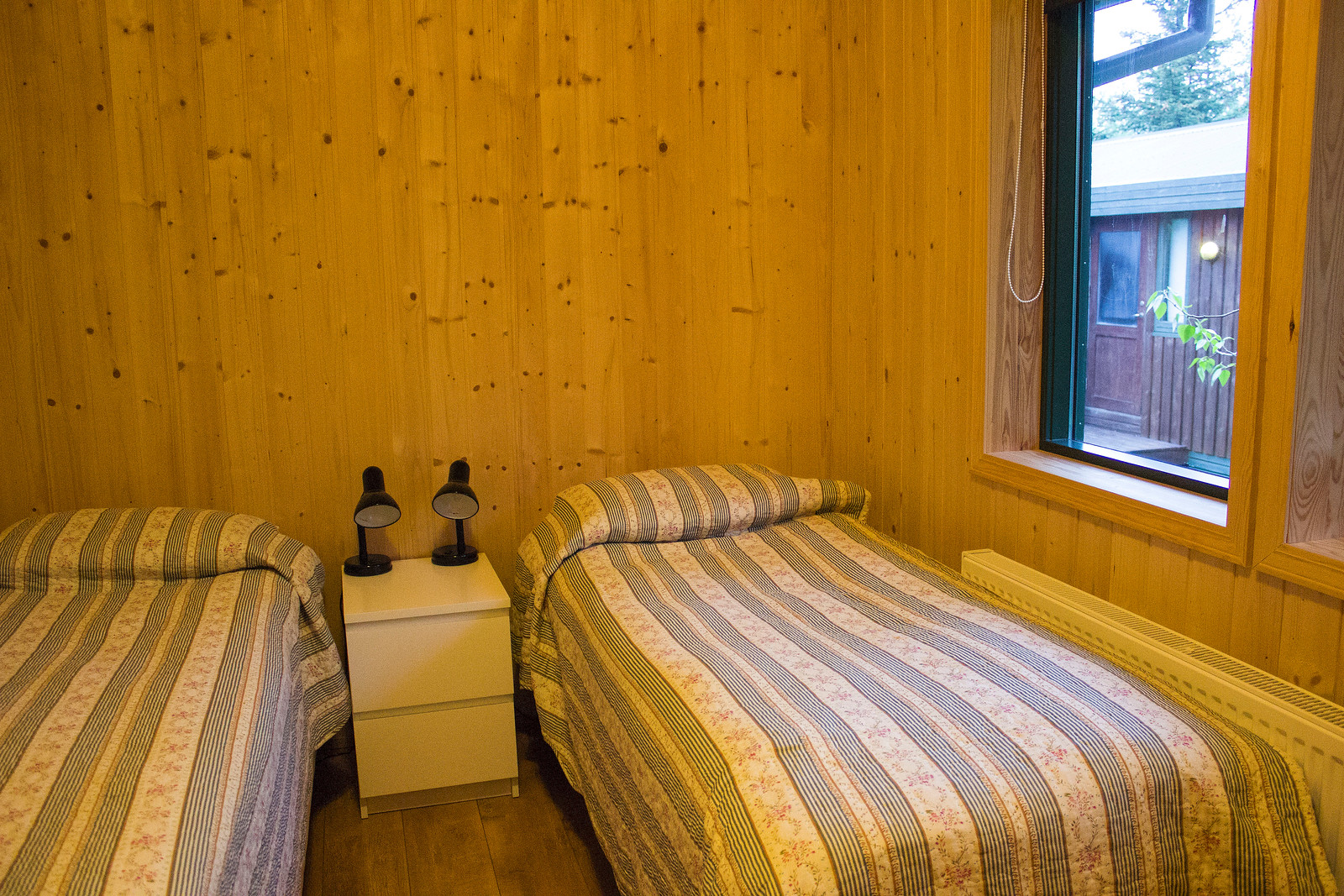 Inside our cottage at Gesthus Selfoss in Iceland - Golden Circle accommodations