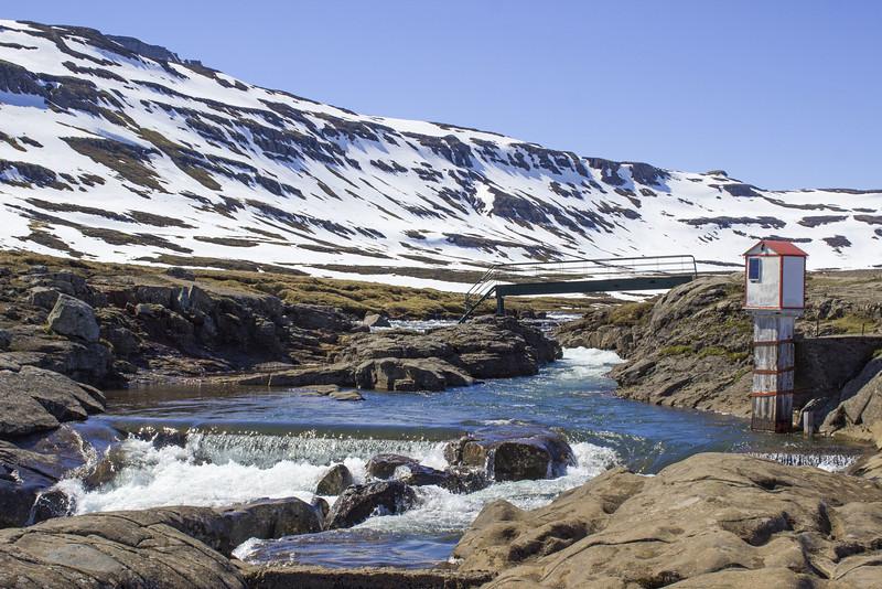 The river, Fjarðará