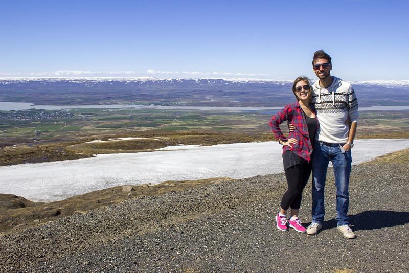 Justin Plus Lauren, near Egilsstadir Iceland