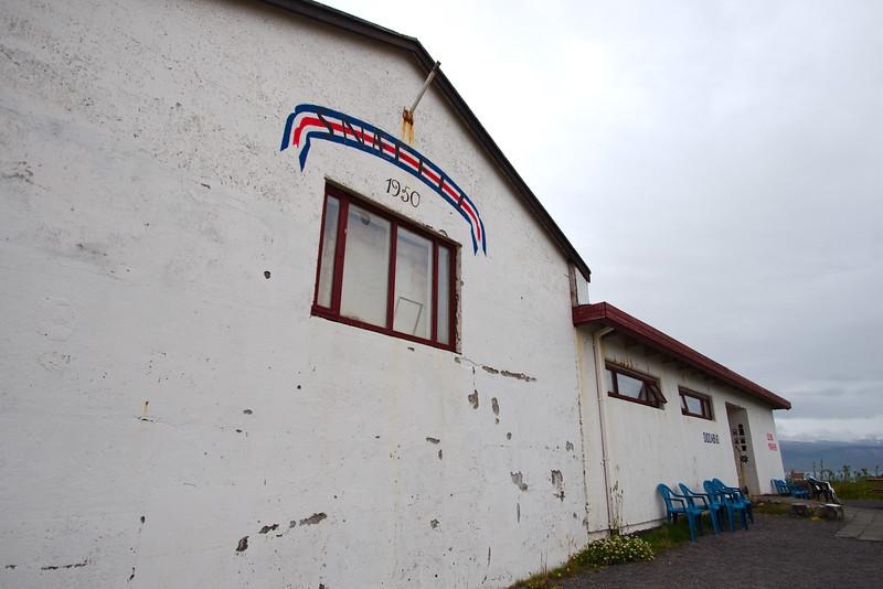 Small restaurant in Arnarstapi, the starting point of our trek across the Snæfellsnes Peninsula
