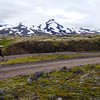 We climbed all day along the F570 with Snæfellsjökull almost constantly in view