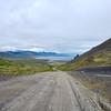 Looking back towards Arnarstapi as we climb towards Snæfellsjökull Glacier