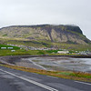 The town of Ólafsvík on the north coast of the Snæfellsnes Peninsula
