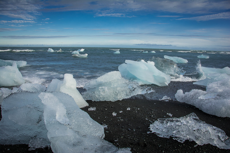 diamond ice beach iceland