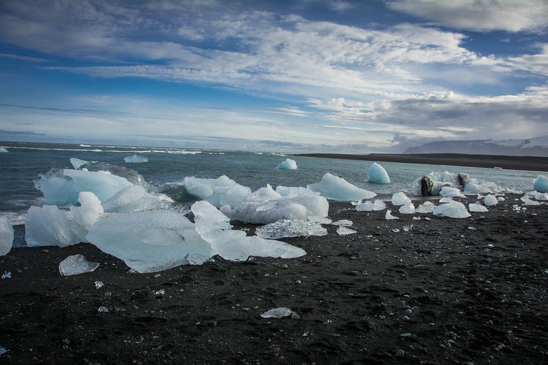 diamond beach south coast iceland
