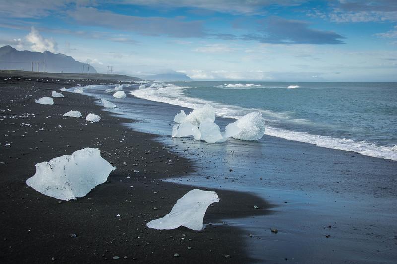 diamond beach jokulsarlon iceland
