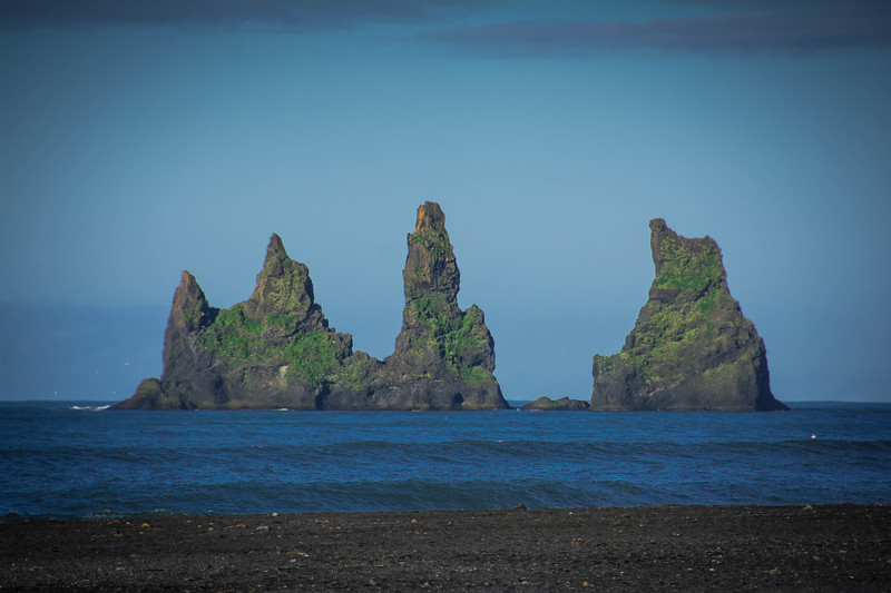 vik iceland sea stacks