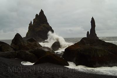 Crashing Waves of Reynisfjara