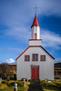 The Skeidflatarkirkja Church, Dyrholaey, Myrdalur, Iceland.