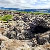 Volcanic debris field in the Westfjords