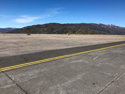 Runway in the middle of the mountains