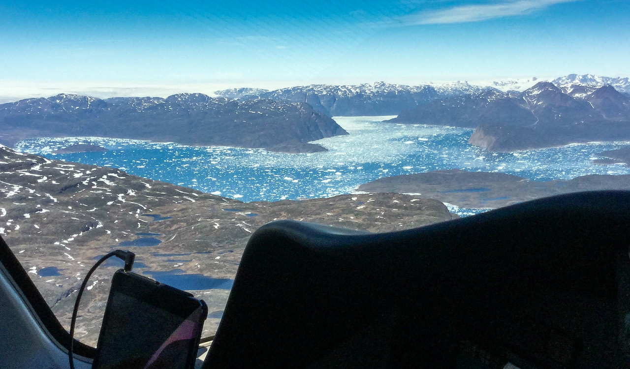 Glacier bay.  Honey do you see the airport down in there?
