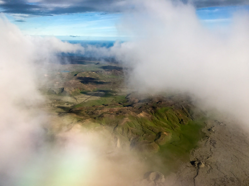 First glimpse of Iceland