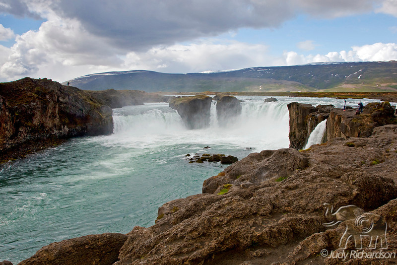 Goðafoss from the more visited side