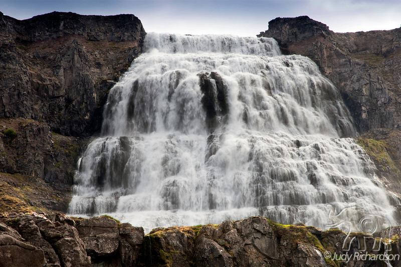 Dynjandi (also known as Fjallfoss) ~ a waterfall in the remote Westfjords (Vestfirðir)