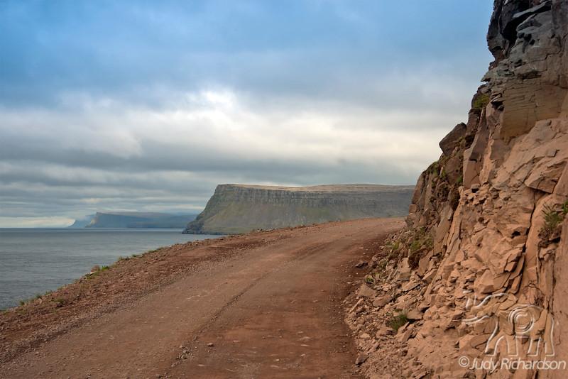 Road to Latrabjorg Bird Cliffs