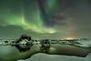 Aurora in Myvatn