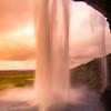 Behind a Curtain of Water, Seljalandsfoss, Iceland