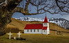 Countryside Church Along Route 1 - Iceland - Tom Ruhland - March 2015