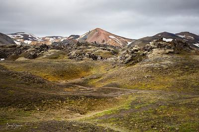 Path to Brennisteinsalda