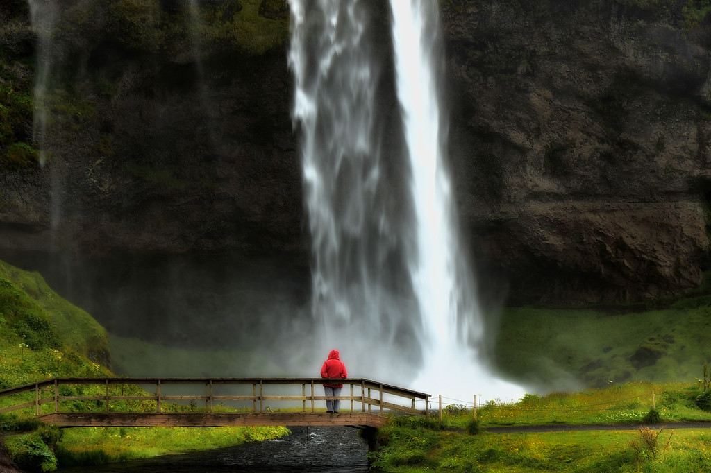 Powerful Seljalandsfoss