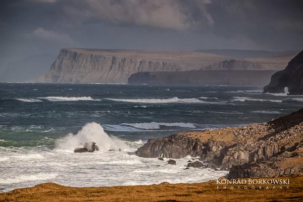 Cliffs near Hvallátur and Breidavik, Westfjords