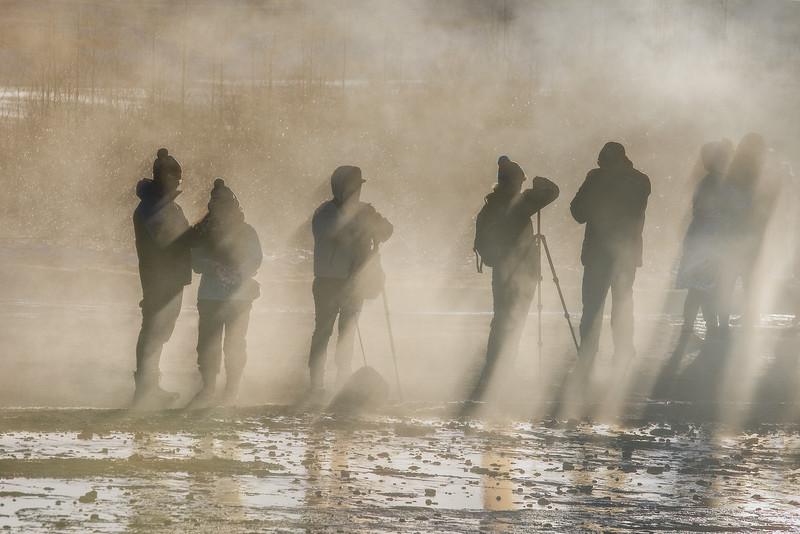 Photographers Geysir
