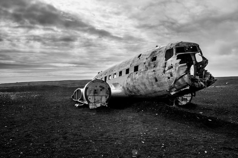 Crashed Plane, Iceland
