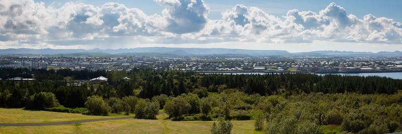 Reykjavik View from Perlan