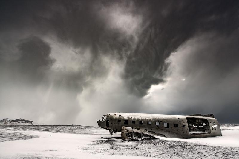 Sólheimasandur Douglas plane crash