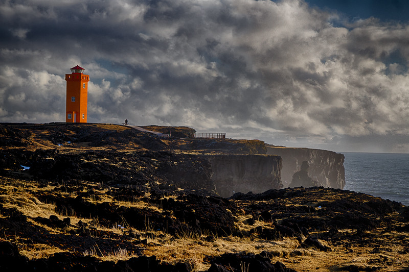 Svörtuloft Lighthouse near Hellissandur (HDR Image) - Iceland - Tom Ruhland - March 2015