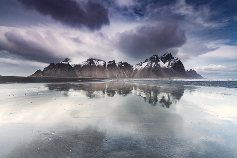 The littoral at Vestrahorn