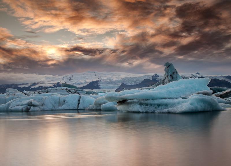Iceland - Jokulsarlon glacier lagoon