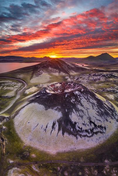 The Volcano Land - Iceland
