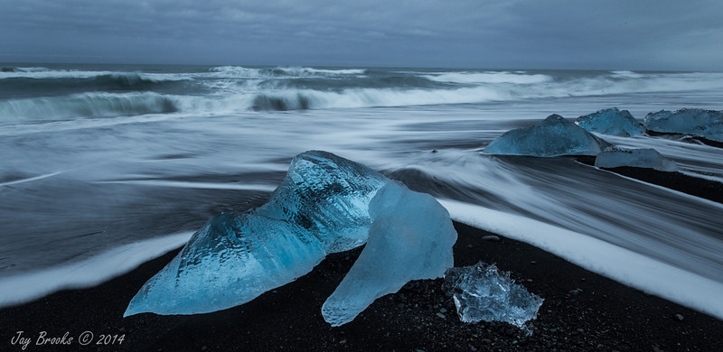Jökulsárlón Ice Beach - Iceland - Jay Brooks - March 2014