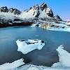 Vestrahorn Frozen Pond Vertical
