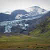 The debris flow from the Eyjafallajokull Crater