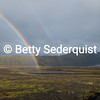 Rainbow and Glacier, Iceland