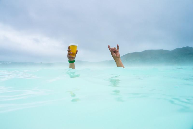 Bryan Iguchi The Blue Lagoon, Iceland