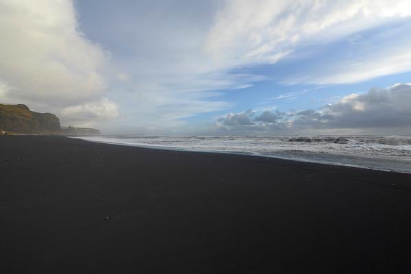 Vik Beach and black sand