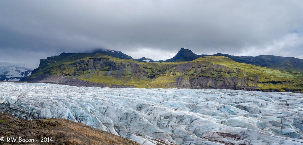 Svinafellsjokull Landscape