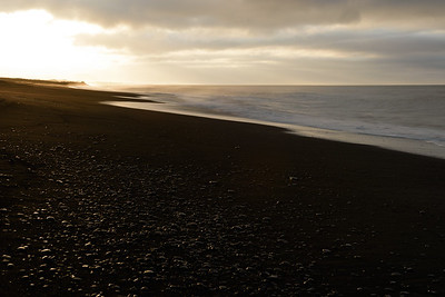 Sunrise at Vik Beach