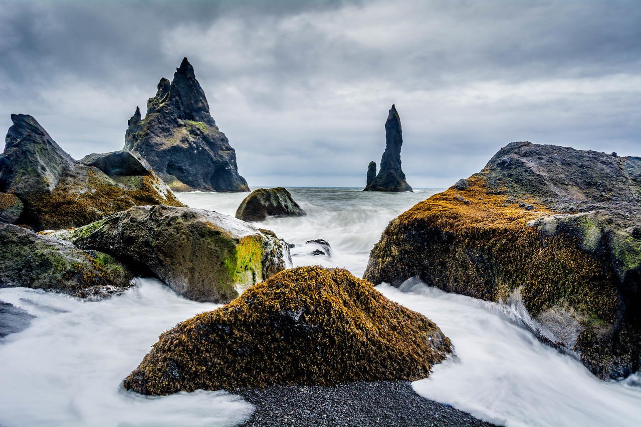 Mystical Sea Stacks - Reynisdrangar, Iceland