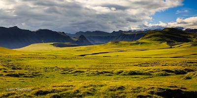 View to Mýrdalsjökull